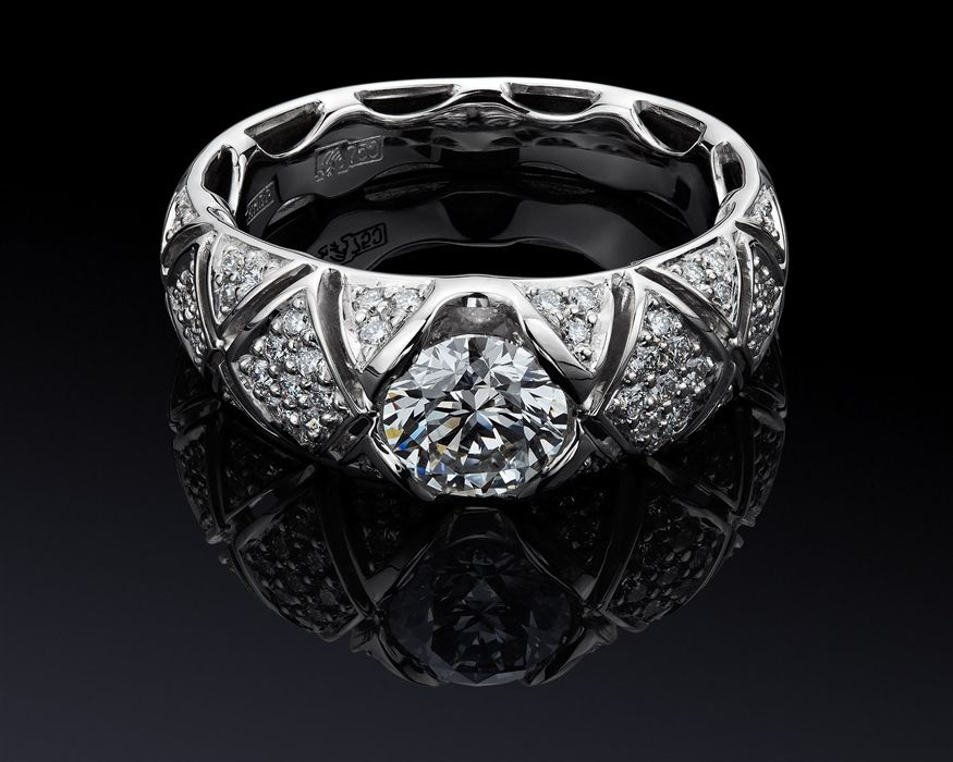 diamond loaded ring | Jewelry | Pinterest | Diamond, Ring and Luxury