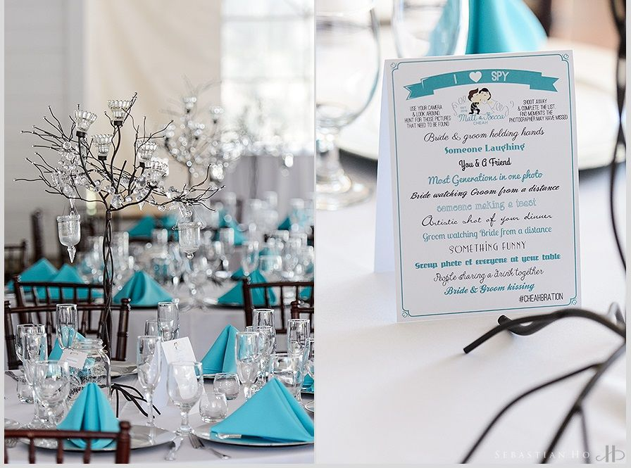 Tiffany Blue Wedding Decor Photo Credit Sebastian Ho Photography