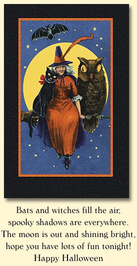 Halloween, Halloween Greeting Cards, Halloween Party Invitations, Vintage  Halloween Cards, Halloween Frame