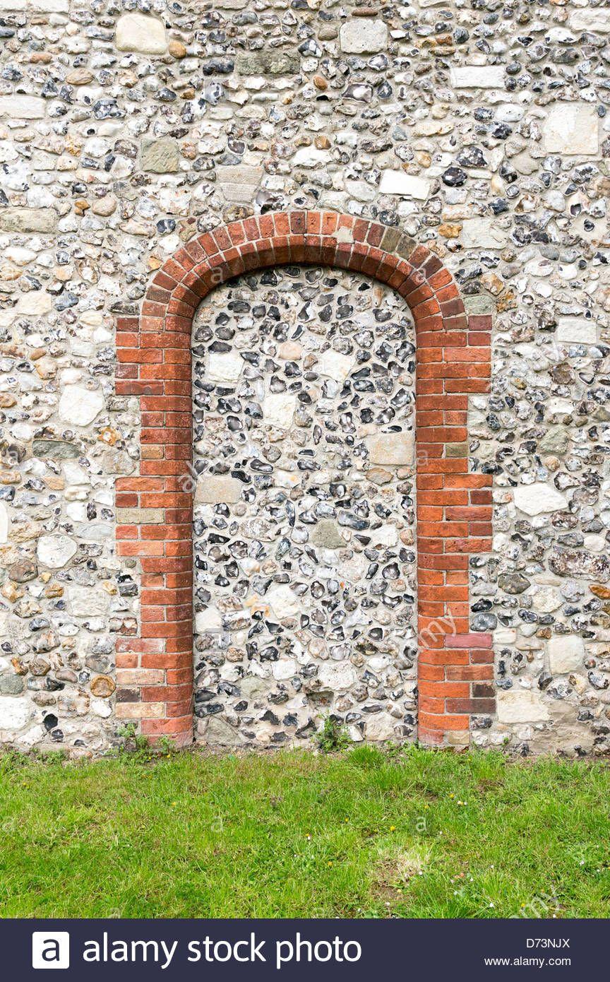 flint infill - Google Search | Brick arch, Brick detail, Brick