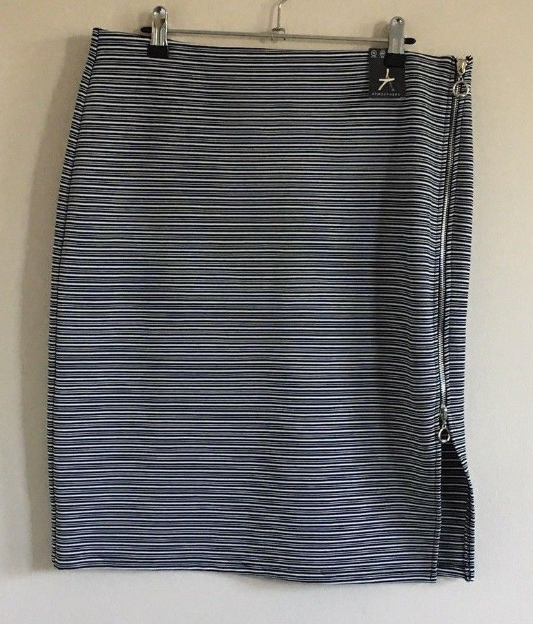 d1b824e4c8 Atmosphere at Primark Size 16 Ladies Black & White Striped Skirt BNWT  #fashion #clothing #shoes #accessories #womensclothing #skirts (ebay link)