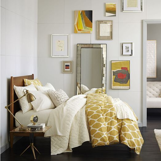 Bedrooms · Mid Century Bed Set   Acorn | West Elm