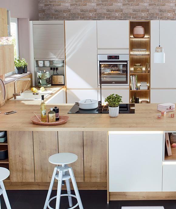 Wohnküche Kücheninsel: Pin Von Manuela Schoeps Auf Küche In 2019