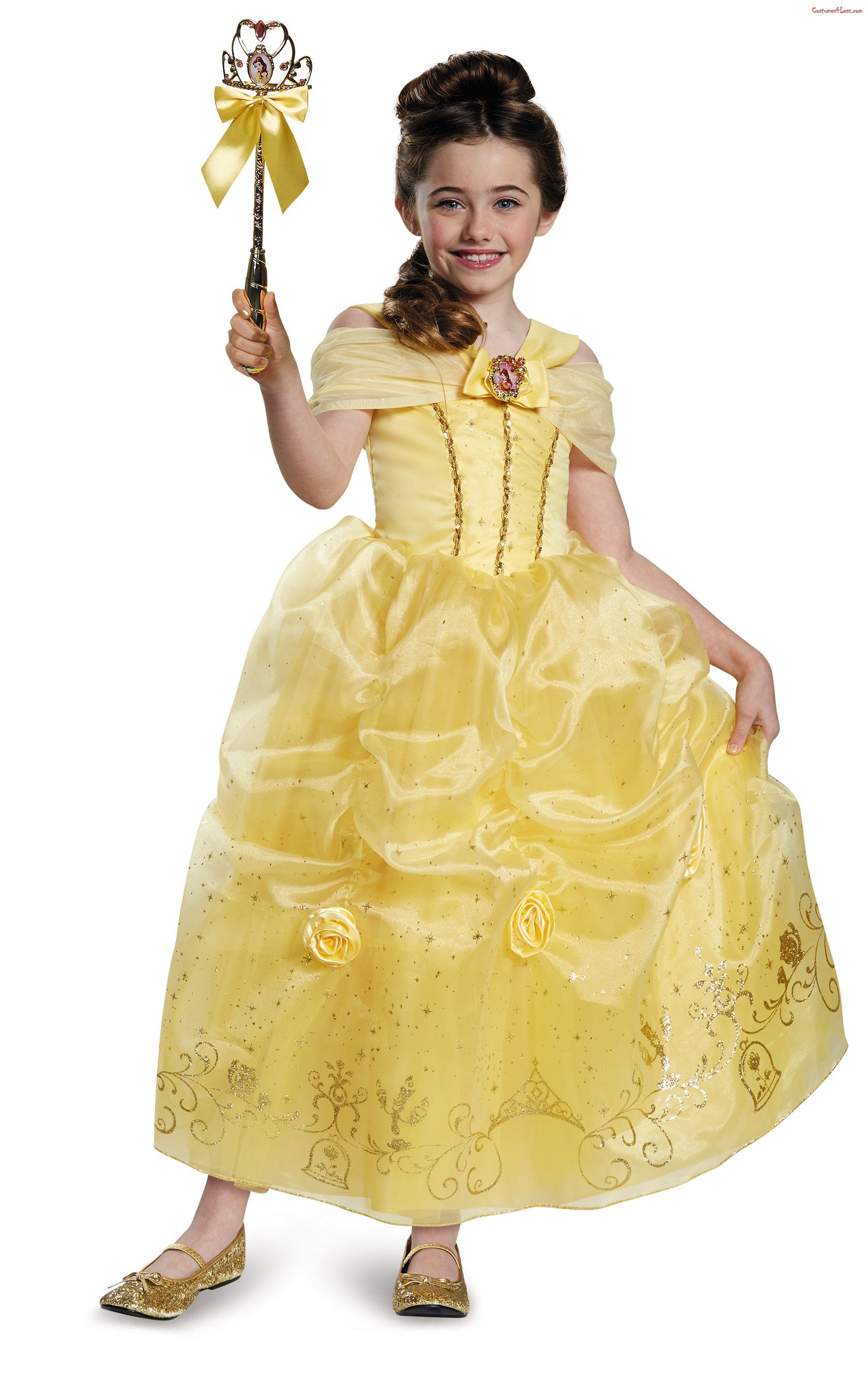 0ff25fc1b94f Beauty and the Beast Belle Prestige Child Toddler Costume Belle ...