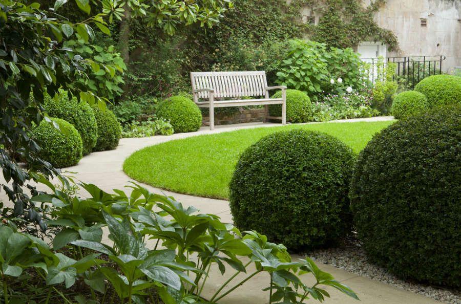 afbeeldingsresultaat voor circular lawn garden designs