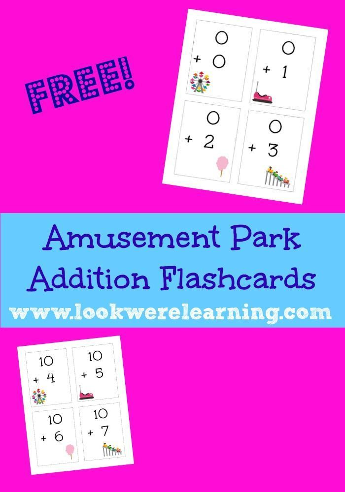 Printable Addition Flashcards for Kids to Practice Math Facts ...
