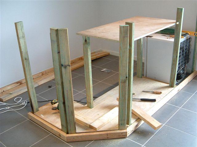 for Plan pour construire un bar en bois