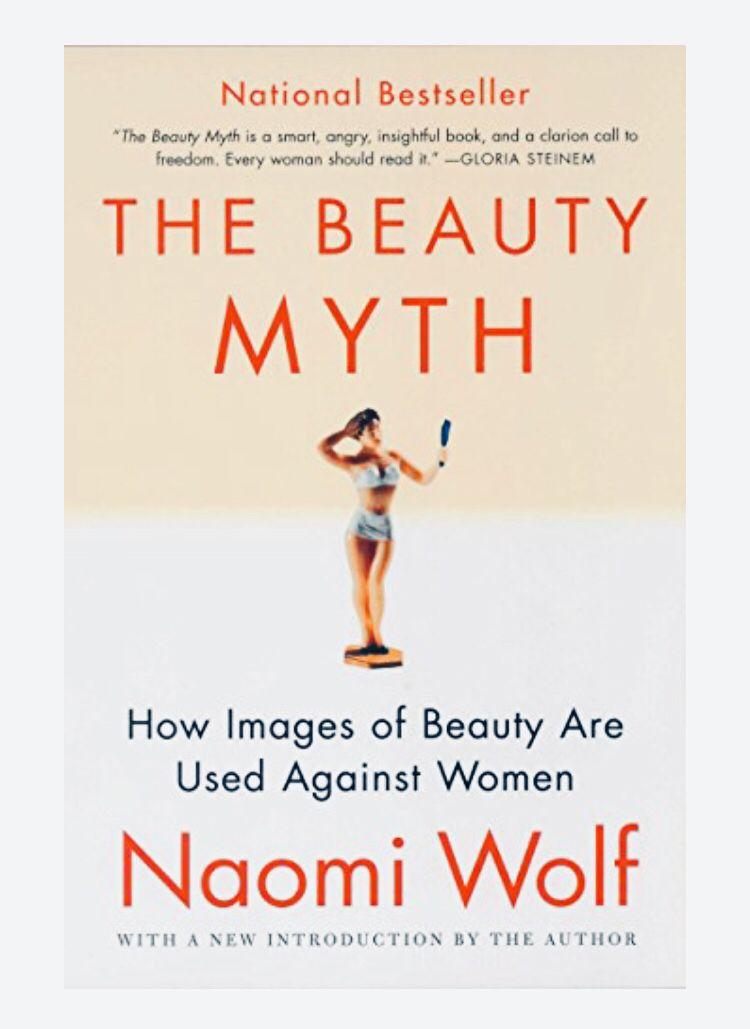 The Beauty Myth By Naomi Wolf Beauty Myth Book Talk Book Challenge