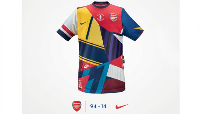 Nike Creates Commemorative Shirt to Mark Arsenal FA Cup