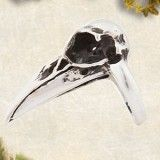 PAMELA LOVE Bird Skull Ring