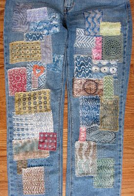 Gelli Printed Patches Tutorial Print And Doodle Your Own