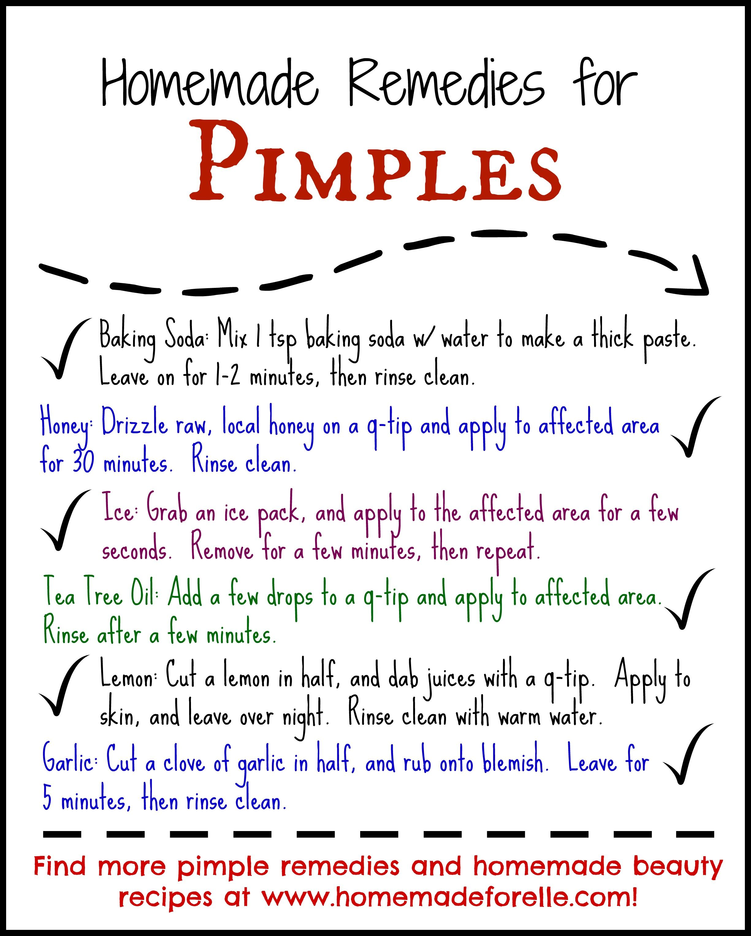 Homemade Beauty Tips for Pimples  Homemade beauty tips, Pimples