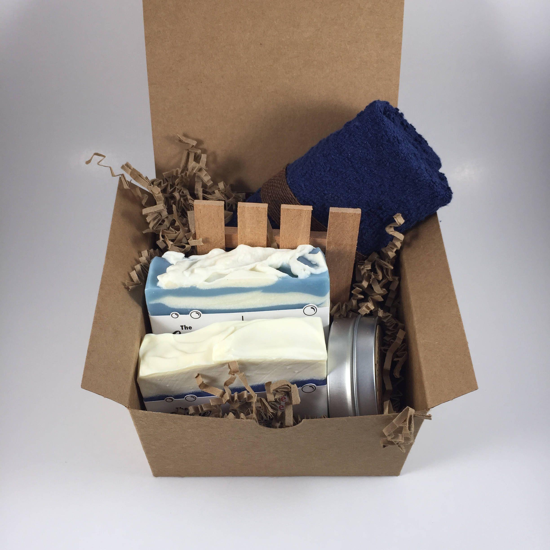 Soap Gift Set Girlfriend Spa Gift Mens Spa Kit Handmade Birthday