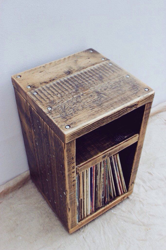 Photo of ANGSTROM | Reclaimed Wood Nachttisch
