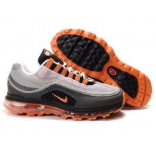 low priced 09db5 05593 Hommes Nike Air Max 24-7 Grey Orange