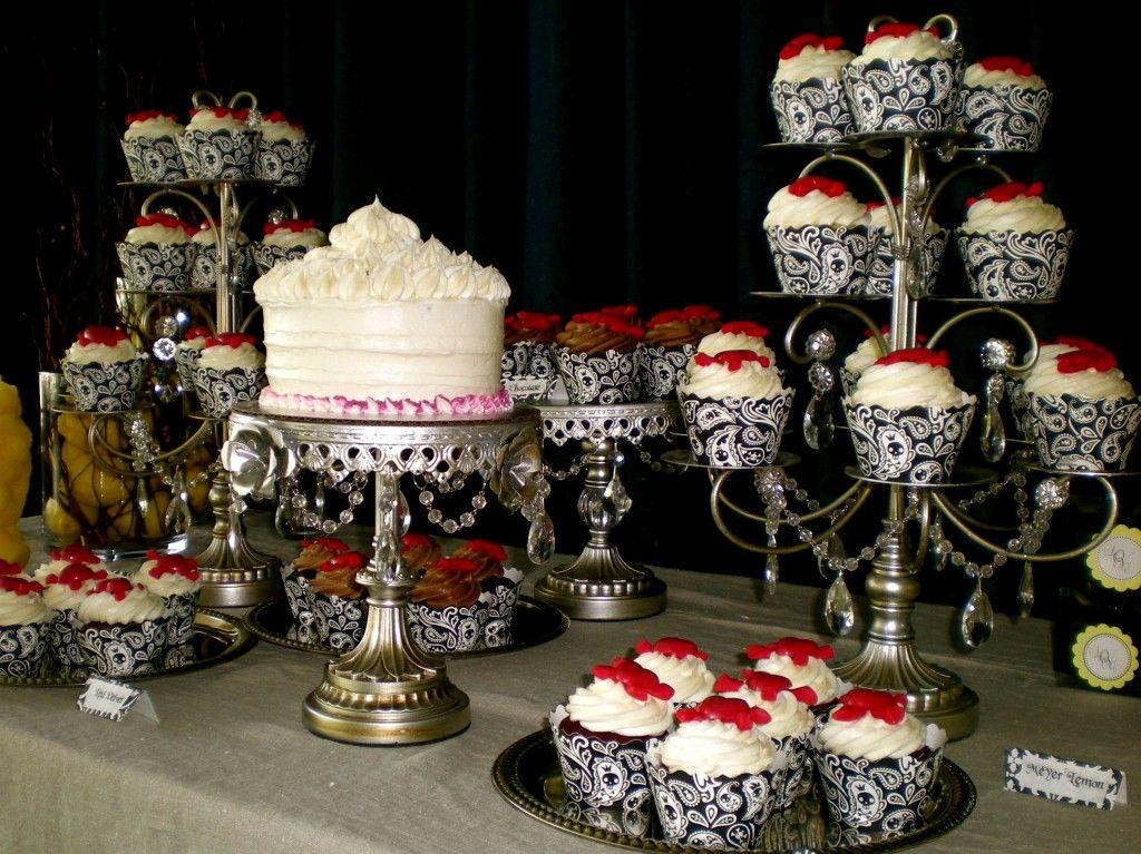 Classy Halloween Wedding Bella Cupcake Couture 187 Blog