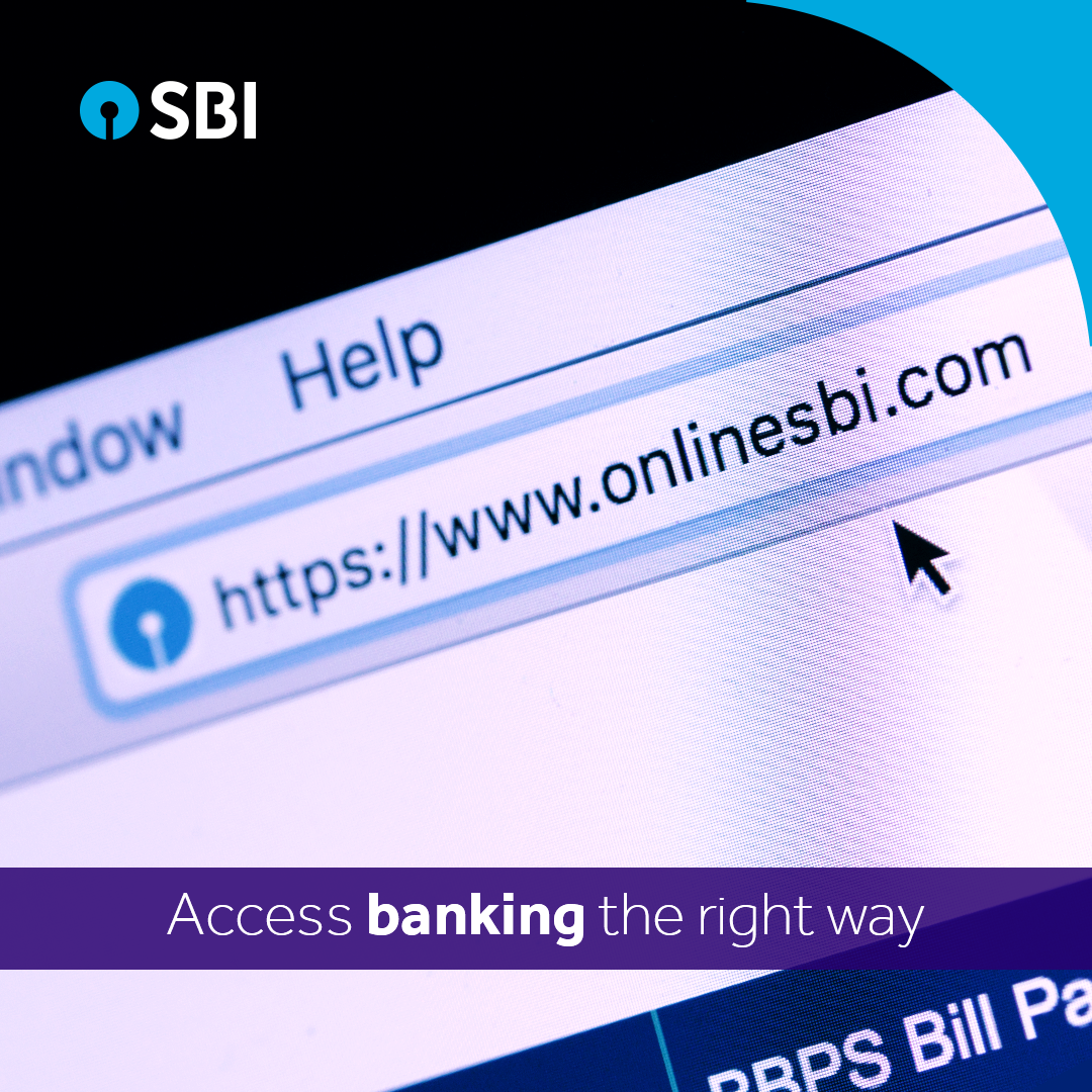 For safe online banking, do ensure that you always access