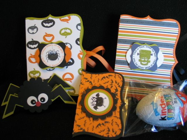 Cute Halloween Favor At Ohmycraftscom At Sizzix Sizzixdies - Cosas-para-halloween-manuales