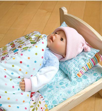Wollyonline Blog: Free Doll Bedding Pattern | sewing | Pinterest ...