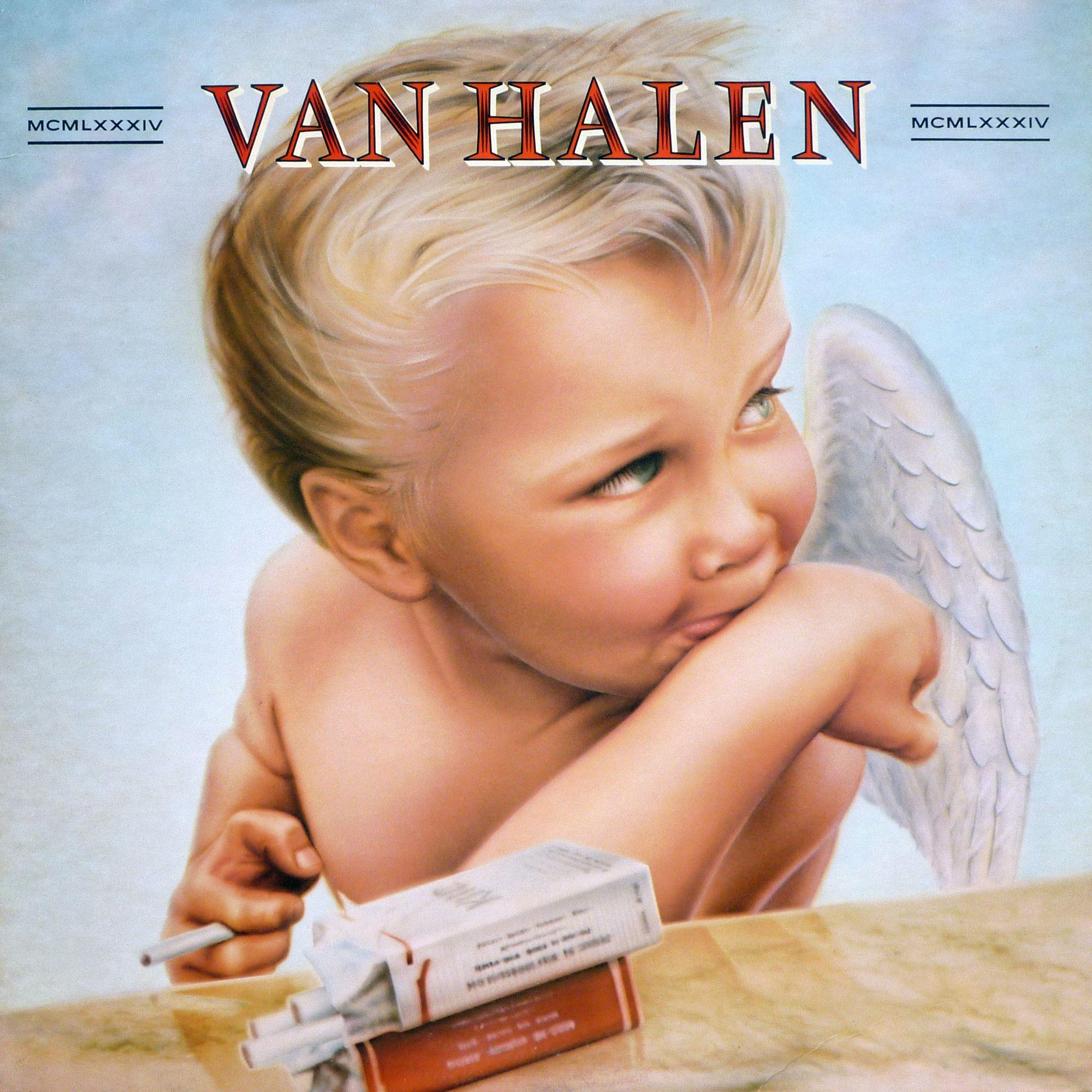 Oslo Presents Van Halen Mcmlxxxiv Van Halen Album Covers Van Halen Greatest Album Covers