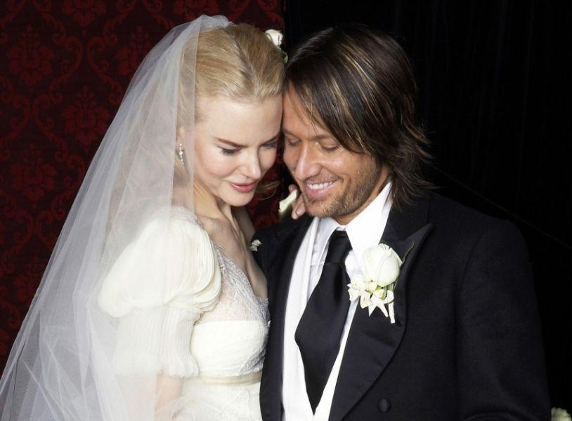 Nicole Kidman und ihr zweiter Ehemann Keith Urban. Die ...