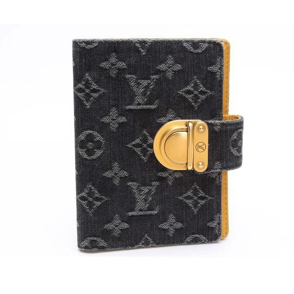 Louis Vuitton Agenda Koala PM  Monogram Denim Other Black Denim R21038