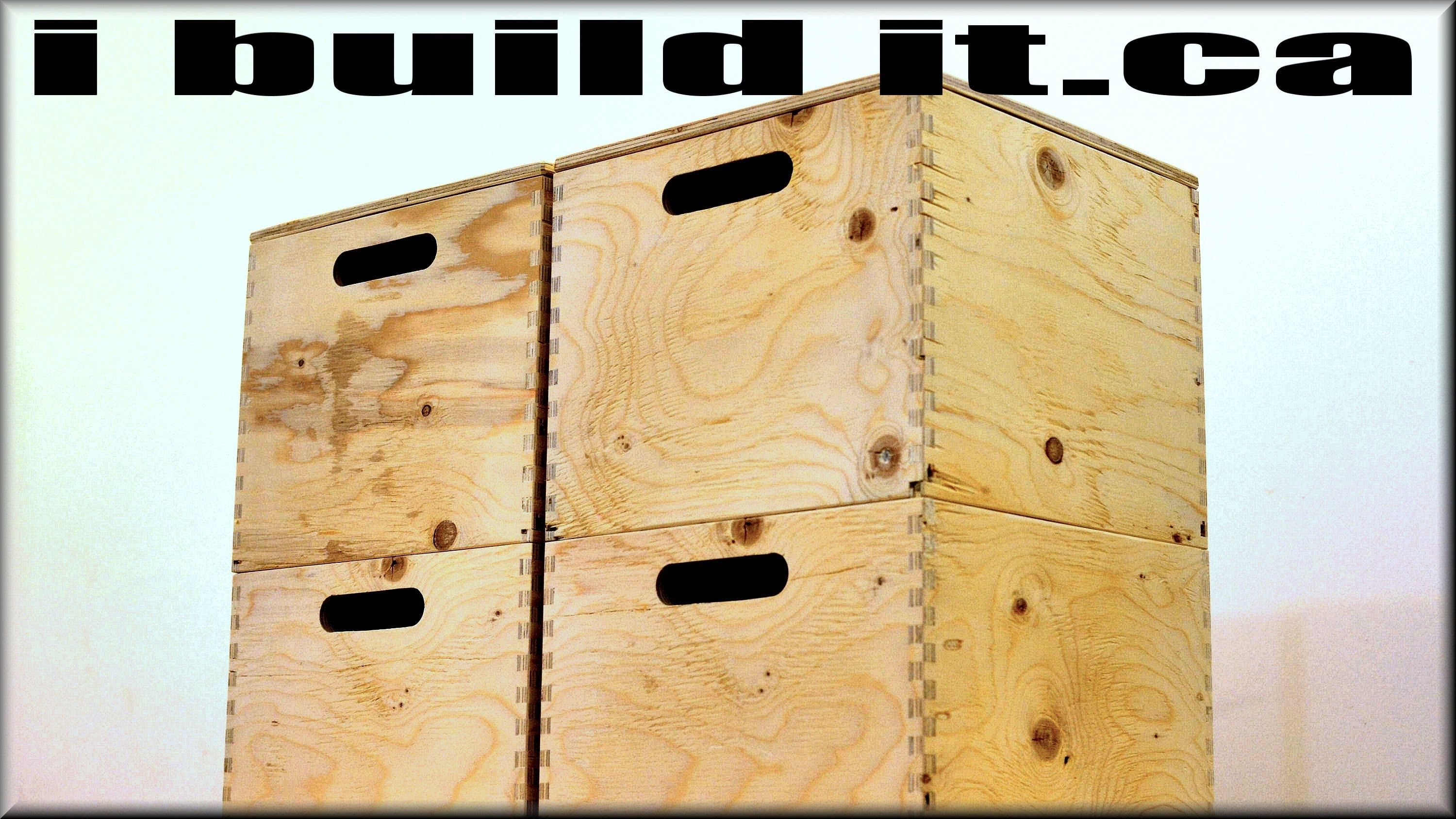 Made From 1 2 Plywood These Boxes Are Very Rugged Handy And Easy To Make I Ve Made Four But Will Be Ma Wooden Storage Boxes Plywood Storage Wooden Storage
