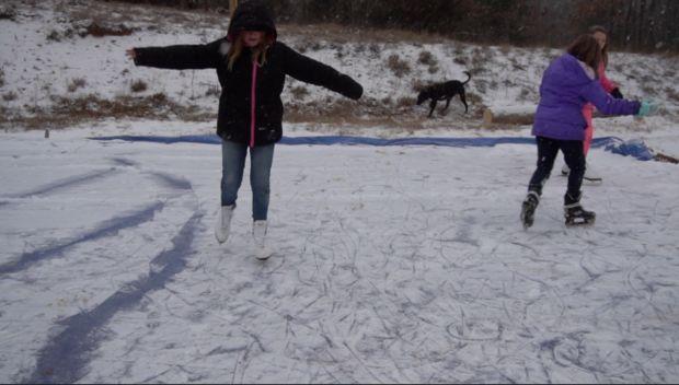How to Make a BackYard Ice Skating Rink   Ice skating ...