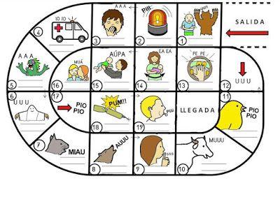 Cartilla de lectura infantil digital juego de la oca lectoescritura inicial escuela - La oca juego de mesa ...