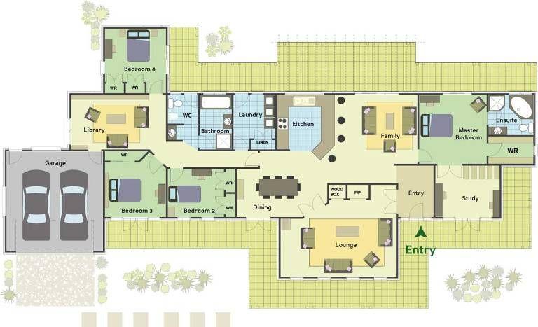 Devon Homes - Carolina Plan View