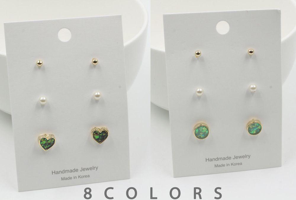 حلق صدف Jewelry Making Accessories Earrings Handmade Jewelry
