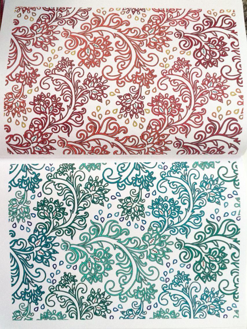 100 coloriages anti stress art thrapie hachette - Coloriage Anti Stress Hachette