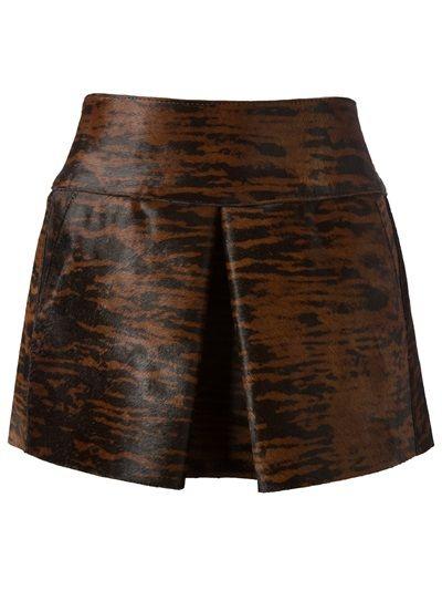 ISABEL MARANT - animal print mini skirt 6