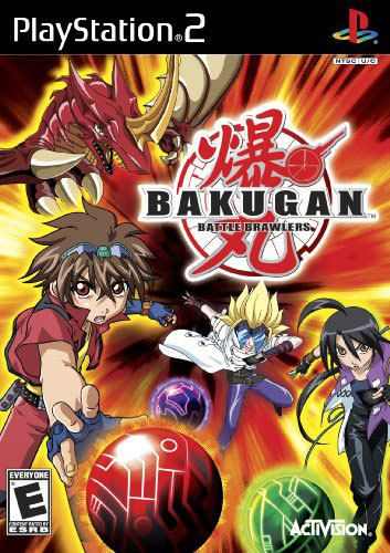 Bakugan Battle Brawlers Ps2 Game Cover Art Jogos Wii Video Game