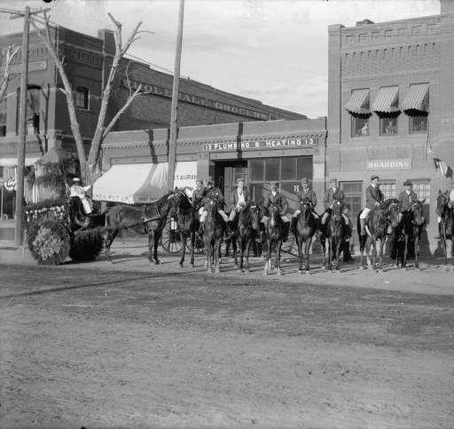 Flower Carnival Parade Colorado Springs Colo 1899