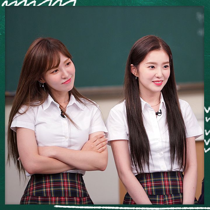 Red Velvet Knowing Brother Anti Feixista