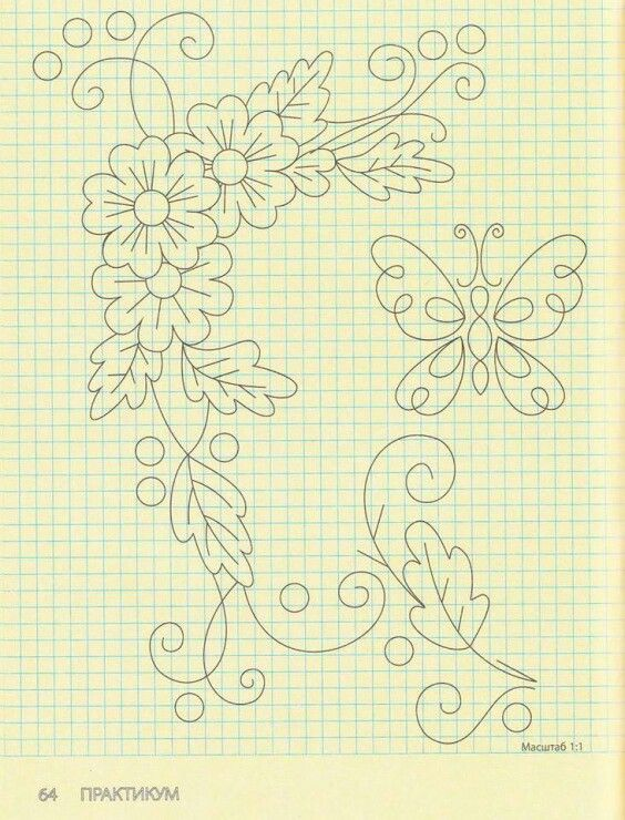 Plantillas   Dibujo   Pinterest   Embroidery, Embroidery patterns y ...