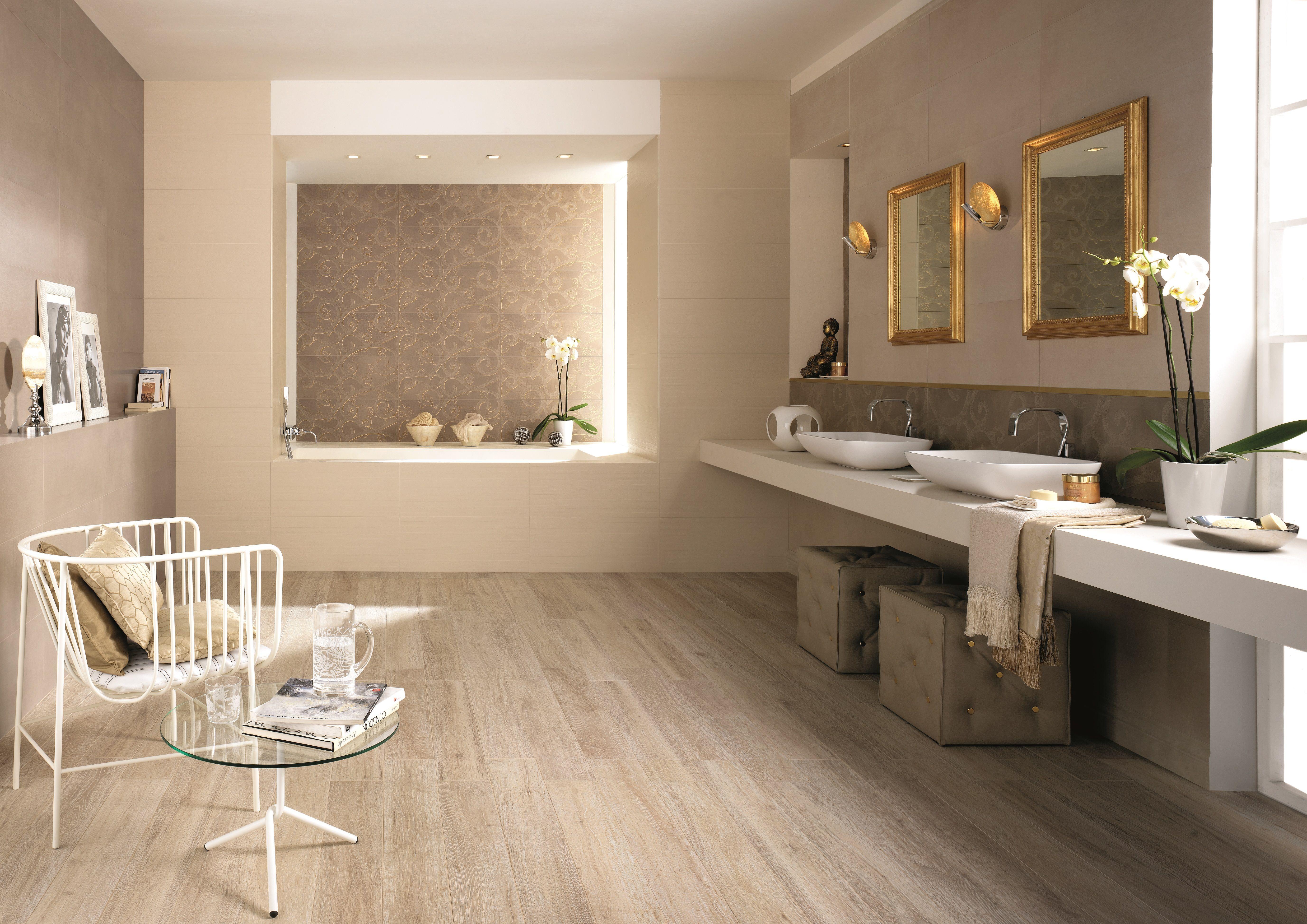 der boden im holz look wirkt edel und harmoniert wunderbar. Black Bedroom Furniture Sets. Home Design Ideas