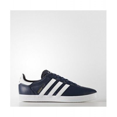the latest f3187 12dc4 Adidas 350 Shoes Collegiate Navy Footwear White Gold Metalic CG3232