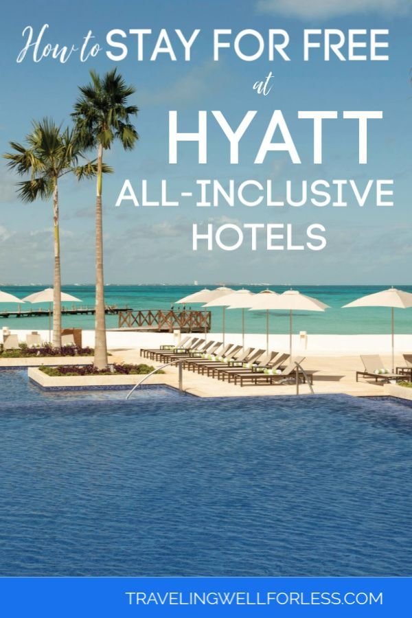 White sand beaches, crystal clear turquoise water, a luxurious room with all meals and drinks included. An all-inclusive vacation doesn't come cheap. One night at an all-inclusive resort can cost $300 or more. But thanks to travel hacking we paid $0. :) Here's how you can stay for free at Hyatt all-inclusive hotels. #travel #travelhack #allinclusive #travelwell4less