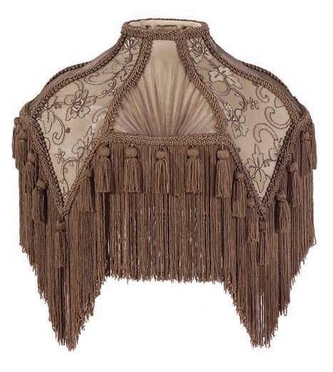 Victorian bridge arm lamp shade with fringe antique lamps victorian bridge arm lamp shade with fringe aloadofball Gallery