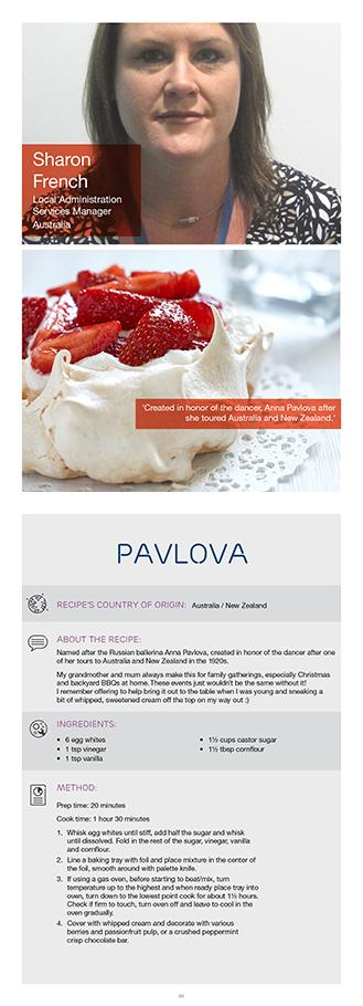 Ericssons sharon f shares her pavlova recipe this classic ericssons sharon f shares her pavlova recipe this classic australian dessert was named after forumfinder Images