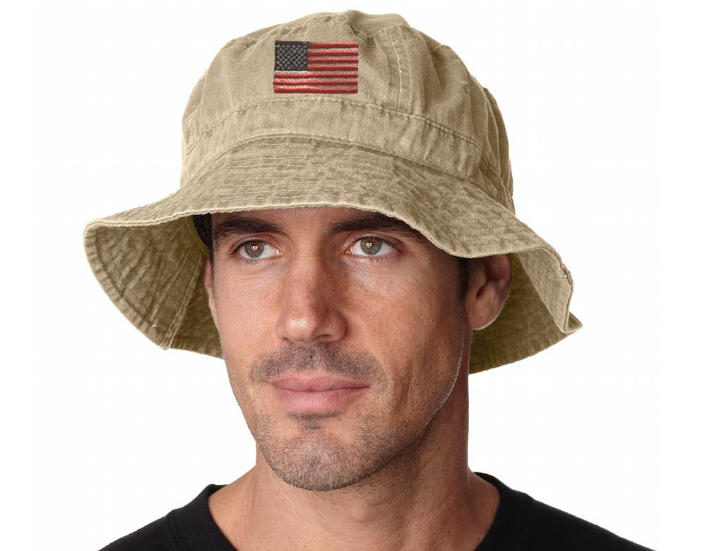 American Flag Bucket Hat