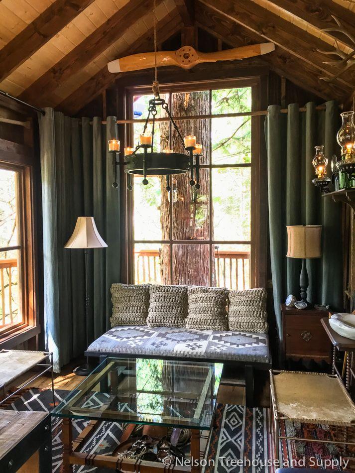 Adventure Build Treehouse Living Room