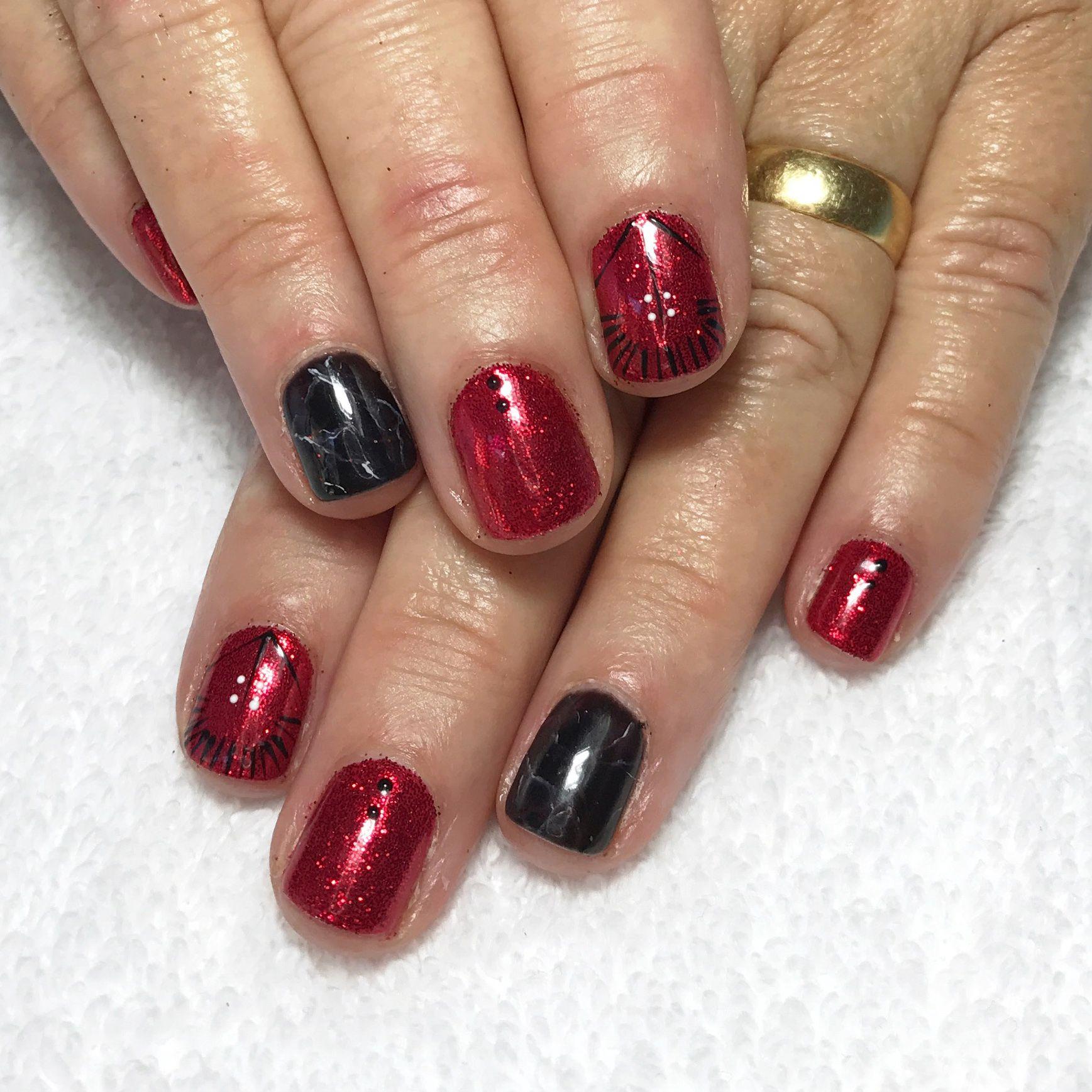 Plume Nail Design Hand Painted Nail Art Custom Nail Designs