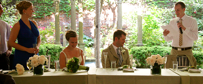 M Restaurant Is Truly Unique Outdoor Garden Wedding Reception Location We Have Also Been Voted As One Of The Best Venues In Philadelphia