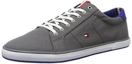 H2285arlow 1d, Zapatillas para Hombre, Gris (Steel Grey), 40 EU Tommy Hilfiger