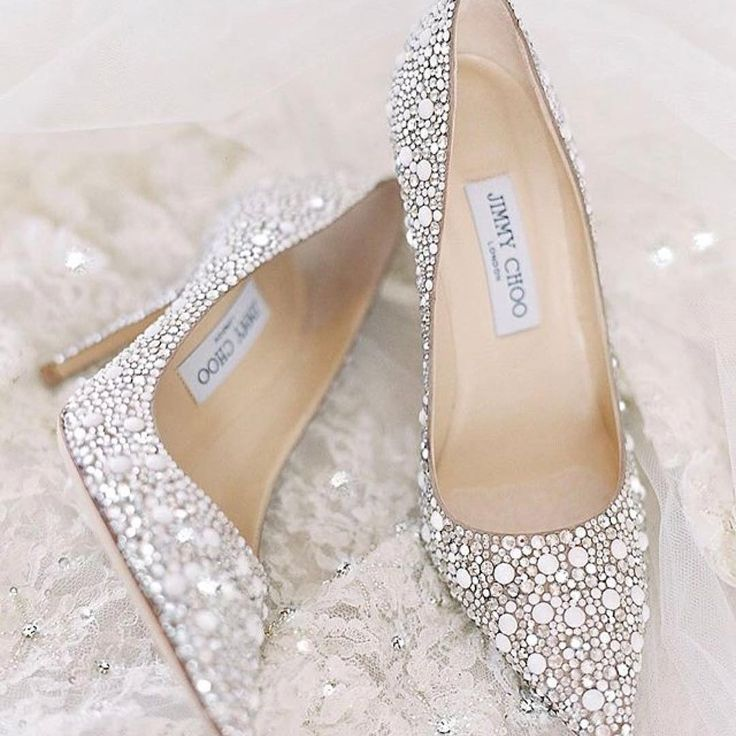 brautschuhe high heels glitzer hochzeitsschuhe elegant jimmy choo schuhe fashion. Black Bedroom Furniture Sets. Home Design Ideas
