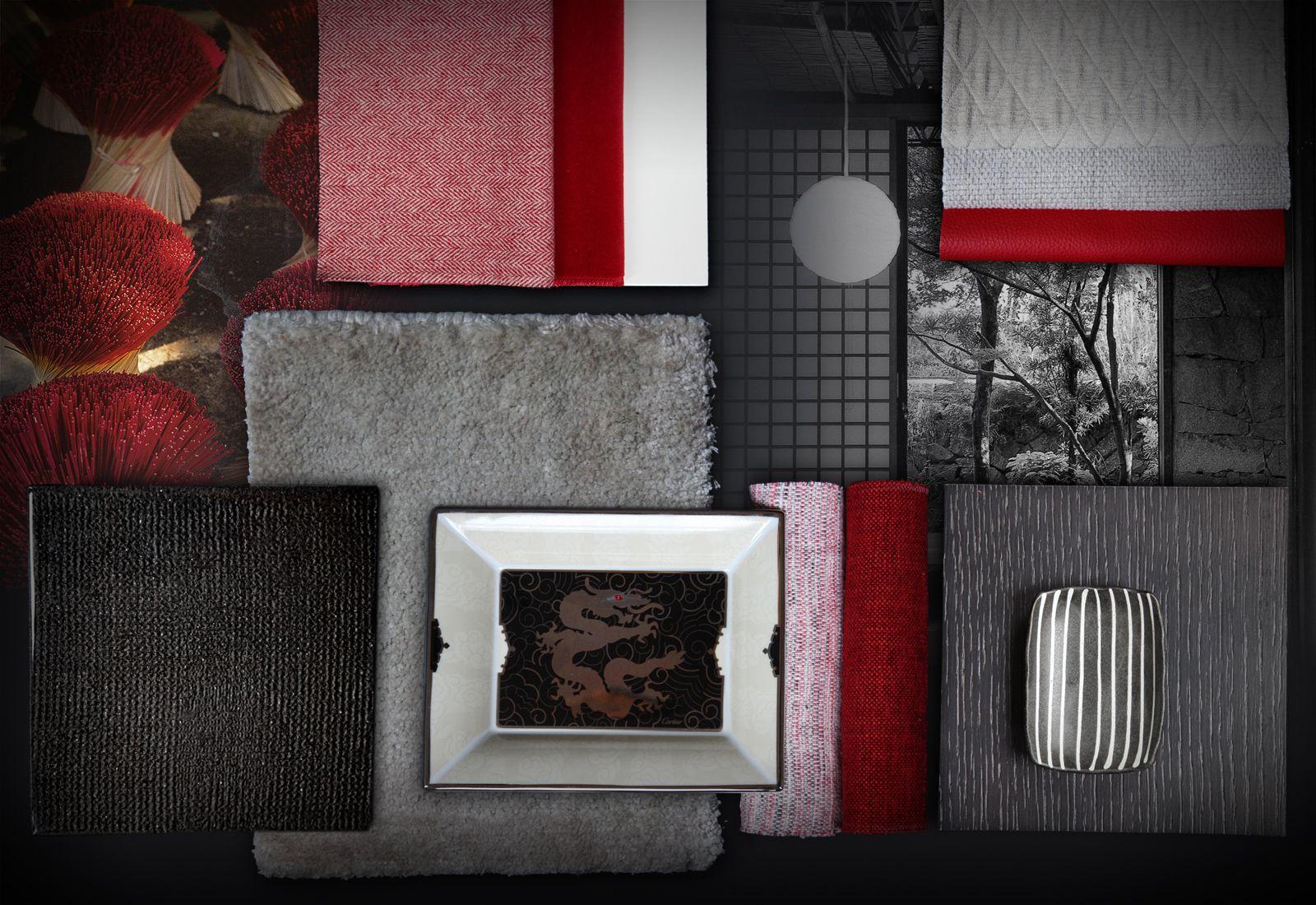 travel memories home textiles en rising sun mood board pinterest. Black Bedroom Furniture Sets. Home Design Ideas