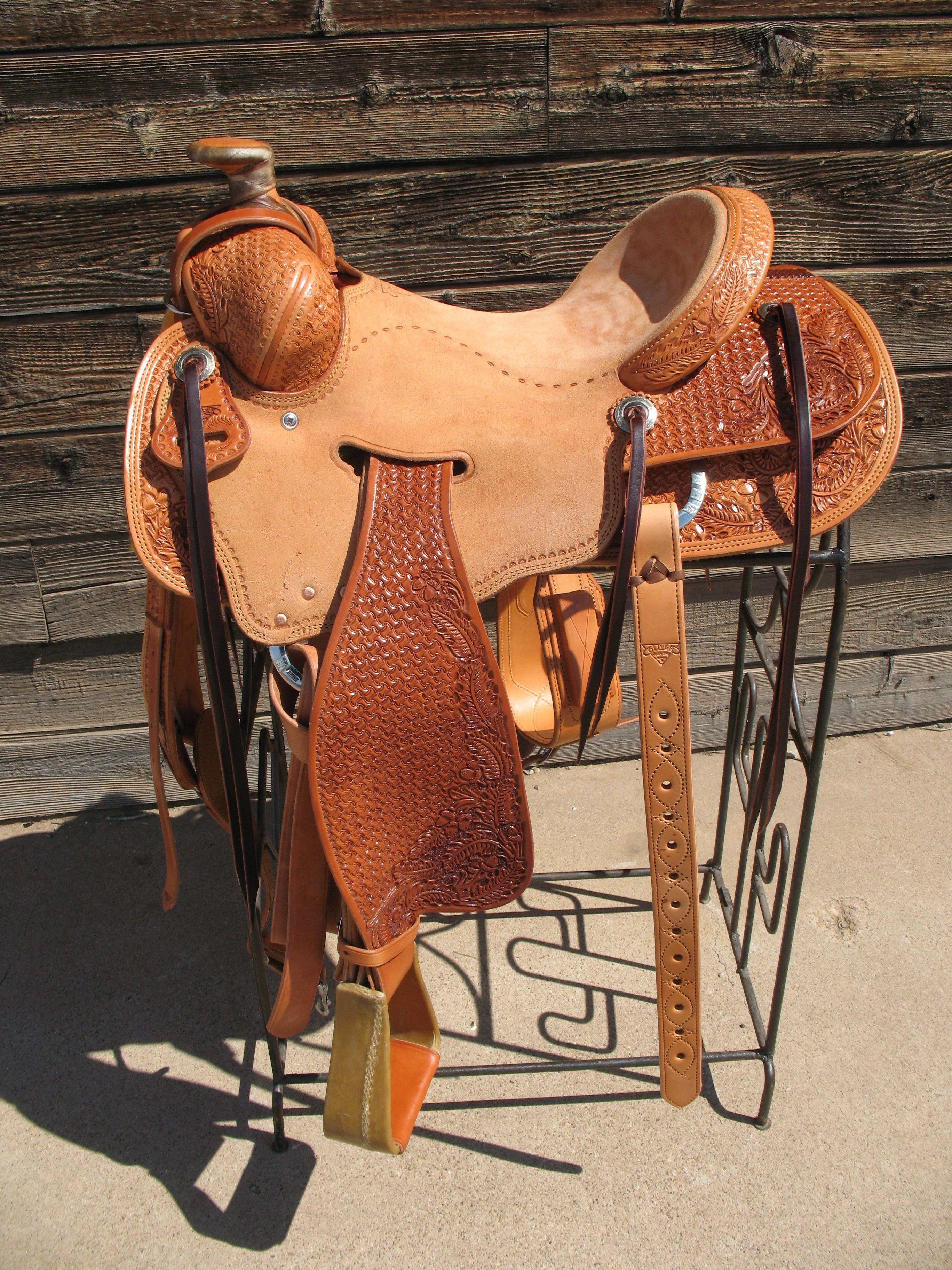 Custom Built Saddle 16